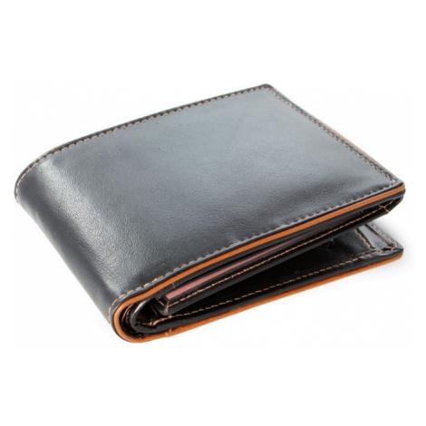 Černo hnědá pánská kožená peněženka Marston Arwel