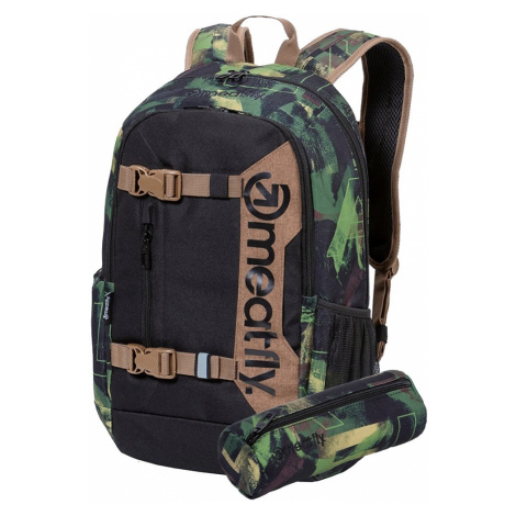 Batoh Meatfly Basejumper 6 b substance camo, black