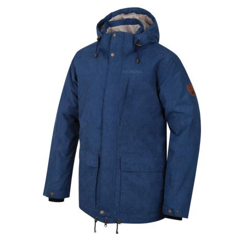 HANNAH LEEDS Pánská zimní bunda 10000039HHX01 Dark denim