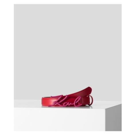 Opasek Karl Lagerfeld K/Signature Belt - Různobarevná