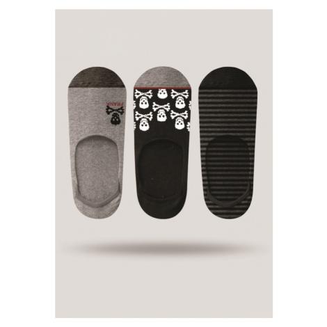 Pánské ponožky John Frank JF3NS17S21 3PACK