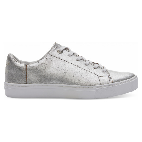 LENOX-Silver Metallic Leather Toms