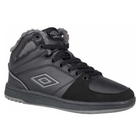 Umbro KINGSTON MID WL - JNR černá - Chlapecká zimní obuv