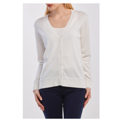 SVETR GANT LIGHT COTTON VNECK CARDIGAN
