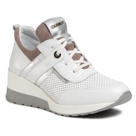 Sneakersy EKSBUT - 2B-5919-N86/489/I92 Bílá