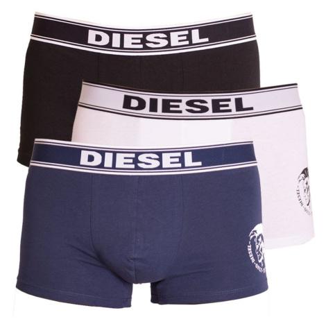 3PACK men's boxers Diesel multicolored