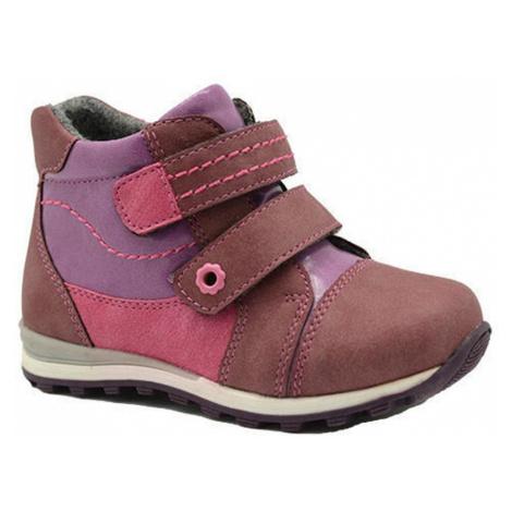 Růžové zateplené boty Felicia Pidilidi