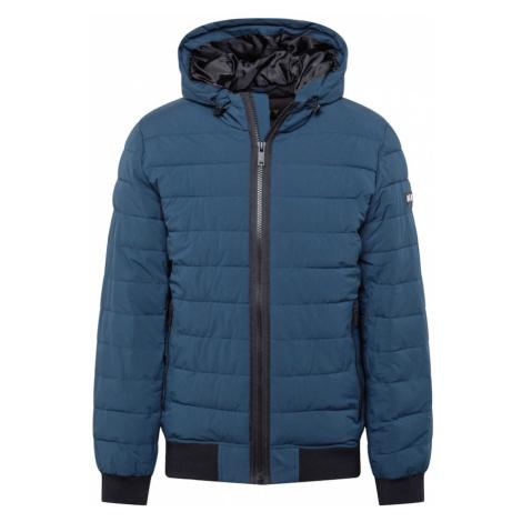 DKNY Přechodná bunda námořnická modř / černá
