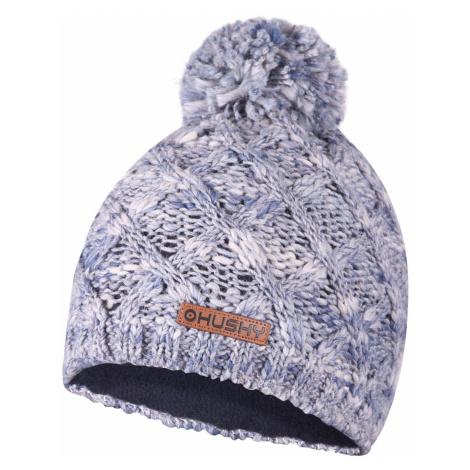 Husky Cap 28, modrá melange Dámská čepice