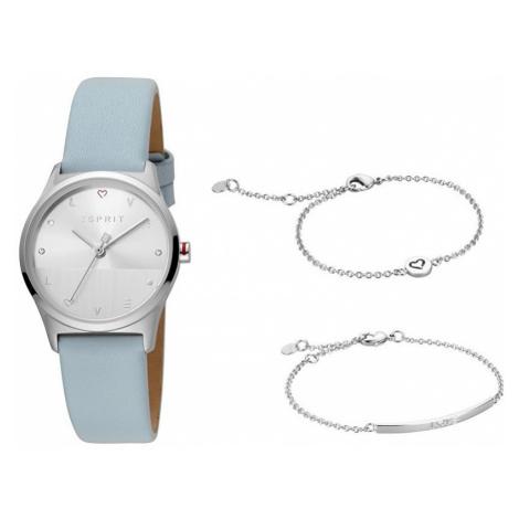 Esprit Dárkový set hodinek se náramky Heart SET ES1L092L0015