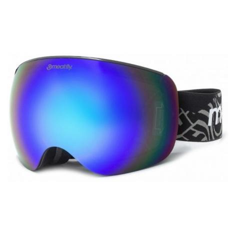 Brýle Meatfly Ekko XL black