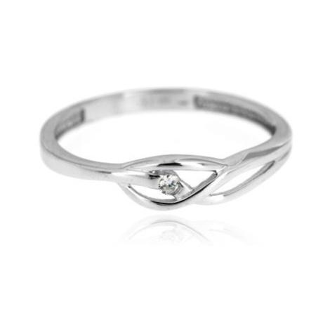 Dámský zlatý prsten se zirkonem 1382