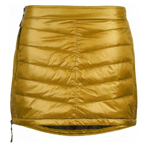 Péřová zimní sukně SKHOOP Mini Down golden star