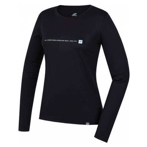 HANNAH TERELLO Dámské triko s dlouhým rukávem 10000210HHX01 Anthracite (blue)