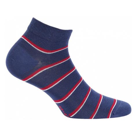 Pánské vzorované kotníkové ponožky Wola