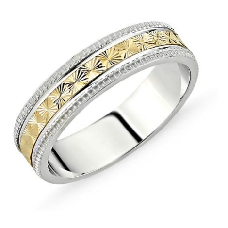 OLIVIE Stříbrný snubní prsten 2131