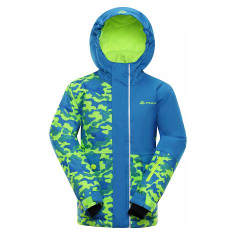 ALPINE PRO INTKO Dětská lyžařská bunda KJCP157674PB Blue aster