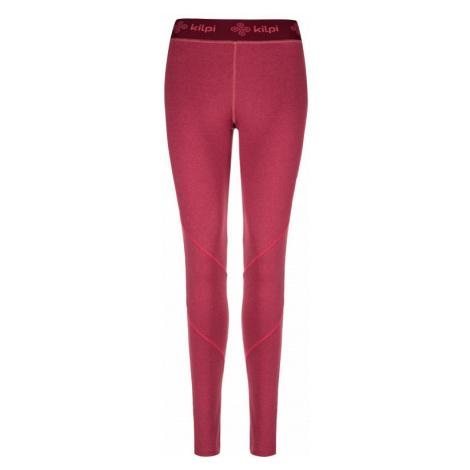 Kilpi Dámské fitness kalhoty Invera tmavě červená