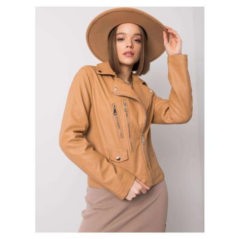 Camel women´s biker jacket Fashionhunters