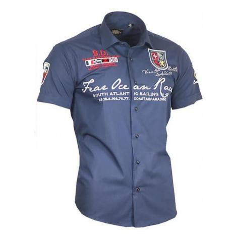 BINDER DE LUXE košile pánská 80606 krátký rukáv