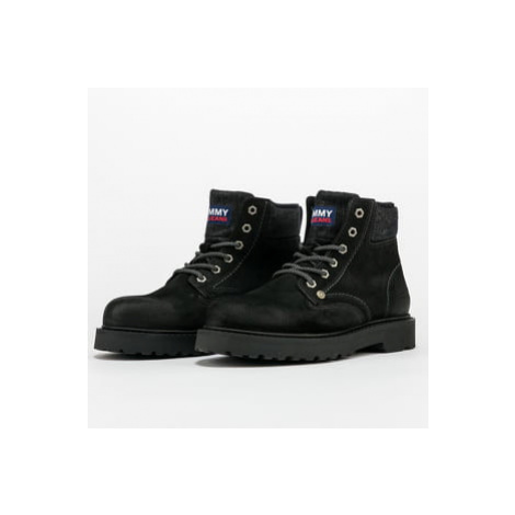 TOMMY JEANS Lace Up Mens Tommy Jeans Boot black Tommy Hilfiger