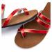 LASCANA Pantofle červená