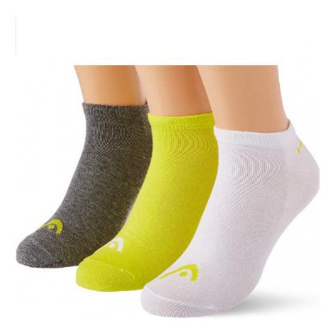 3PACK ponožky HEAD vícebarevné (761010001 004) M
