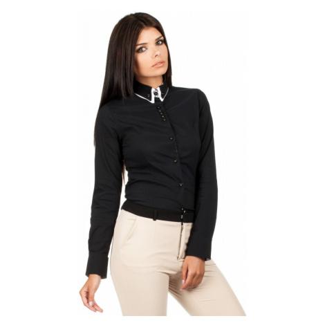 MOE košile dámská 067 dvojitý límeček