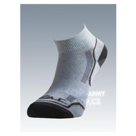 Ponožky se stříbrem Batac Classic short - sand