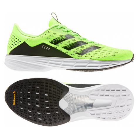 Pánské běžecké boty adidas SL20 zelené