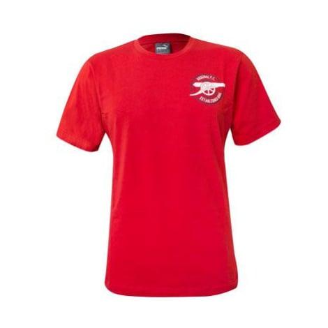 Tričko Puma Arsenal Graphic Tee Červená