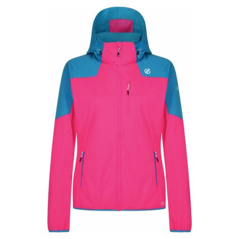 Dámská softshellová bunda Dare2b INQUIRE růžová/modrá Dare 2b