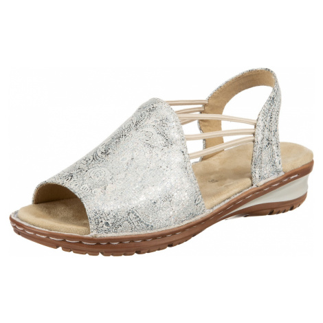 ARA Sandály 'Hawaii' stříbrná