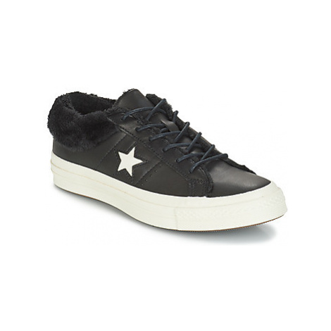 Converse ONE STAR LEATHER OX Černá