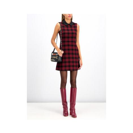 Úpletové šaty Red Valentino