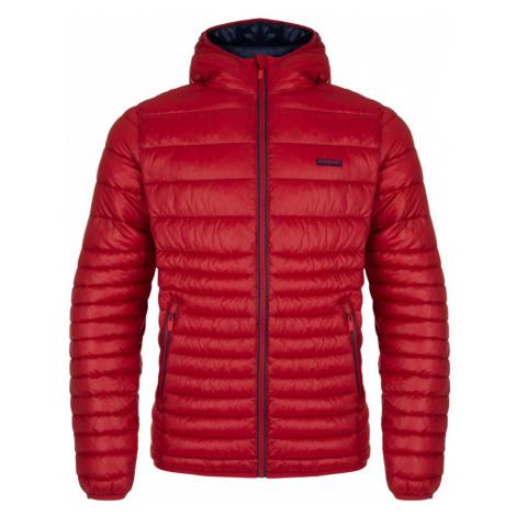 LOAP JEFRY Pánská zimní bunda do města CLM1953G55G Haute Red
