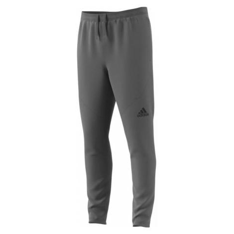 adidas Climalite Workout pánské funkční kalhoty šedé