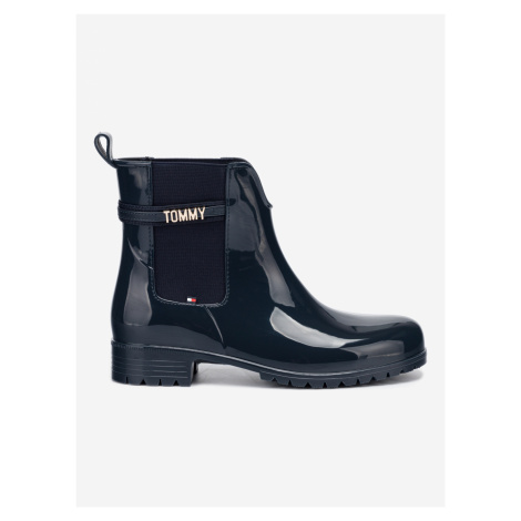 Kotníková obuv Tommy Hilfiger Modrá