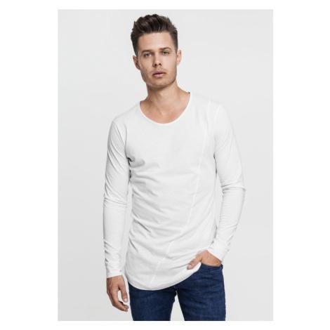 Long Shaped Fashion L/S Tee - white Urban Classics
