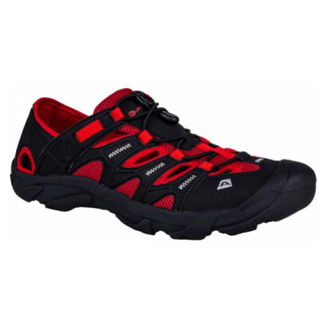 ALPINE PRO VEMOS červená - Pánská letní obuv