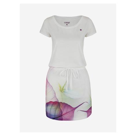 Šaty Loap Alysa Bílá