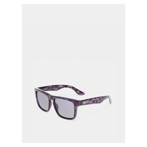 Fialovo-černé vzorované sluneční brýle VANS