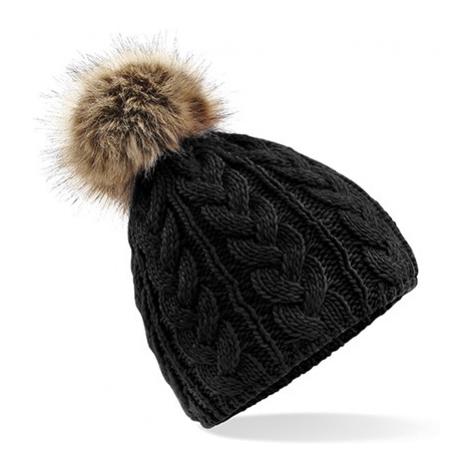 Zimní čepice Beanie - černá Beechfield