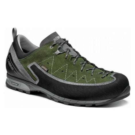 Pánské boty ASOLO Apex GV MM grey/rifle green UK