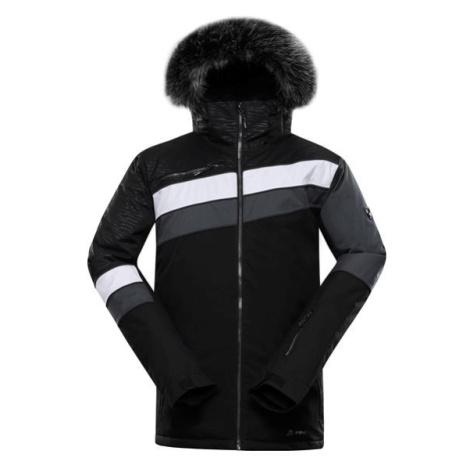 Dor 3 černá pánská zimní bunda s membránou ptx ALPINE PRO