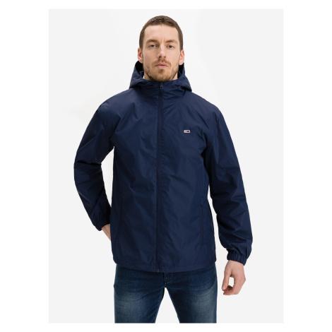Packable Windbreaker Bunda Tommy Jeans Modrá