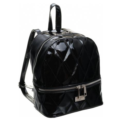 Badura® dámský černý prošívaný batoh T_D042CZ_CD