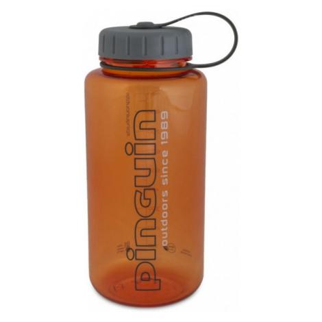 Pinguin Tritan Fat Bottle 1l, oranžová