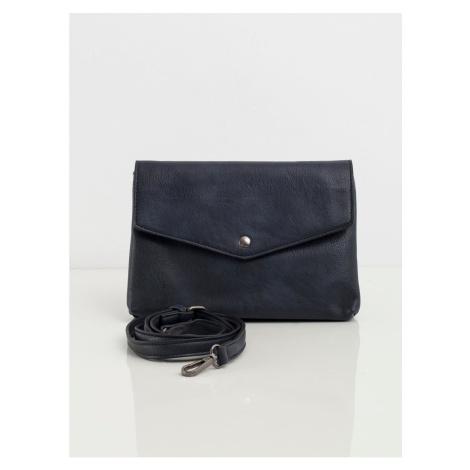 Ladies´ navy blue bag with a flap Fashionhunters