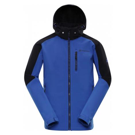 ALPINE PRO NOOTK 5 Pánská softshellová bunda MJCP357682 nautical blue